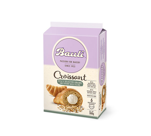 Croissant 5 Grains Milk Cream 6 Pz LR