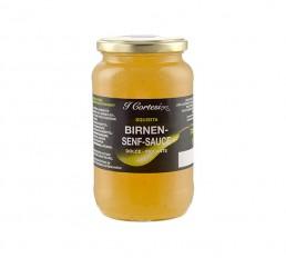 Birnen Senf Sauce