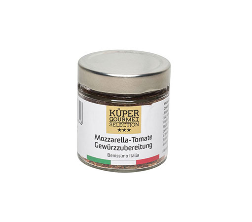 Mozzarella Tomate Gewürzzubereitung